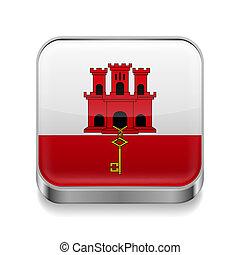 Metal  icon of Gibraltar