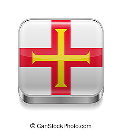 Metal  icon of Guernsey
