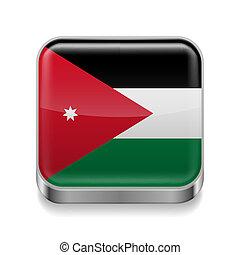 Metal  icon of Jordan