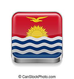 Metal  icon of Kiribati