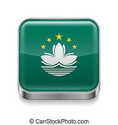 Metal  icon of Macau