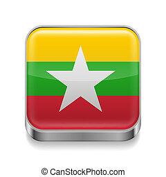 Metal  icon of Myanmar