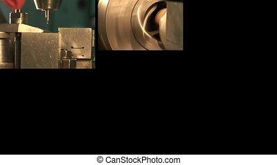 Metal industry. Multiscreen