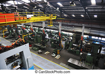 metal industy factory indoor