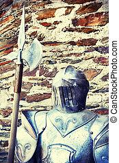 Metal knights armor
