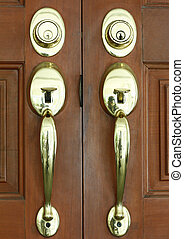 Metal knobs_door