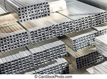 metal laminado, perfiles