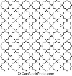 Metal lattice - Seamless vector illustration