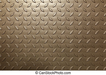 Metal leaves background