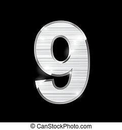 metal letter,9