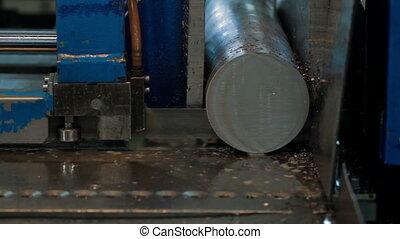 metal machining cutting process of blank detail
