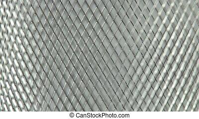 Metal Mesh Background   - Metal Mesh Background