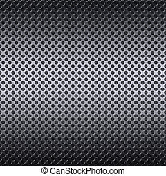 Metal mesh background with reflections