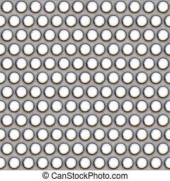 Metal Mesh Pattern - A 3d illustration of a steel grate...