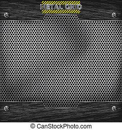 metal mesh texture vector