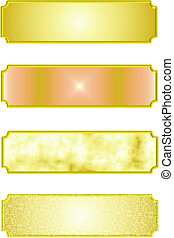 metal nameplates in 3d for business