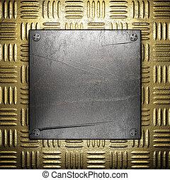 metal, oro