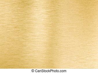 metal, ouro, textura