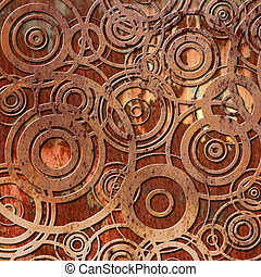 metal oxidado, plano de fondo
