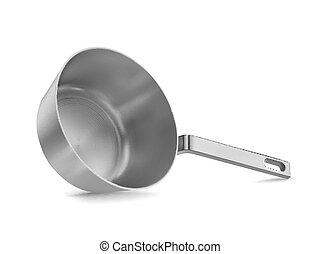 pan - Metal pan realistic.