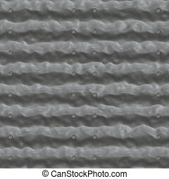 Metal pattern seamless generated texture