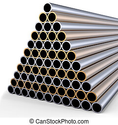 metal pipes - tubes made of rare earth alloys for high-tech...