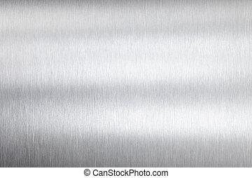 metal, placa
