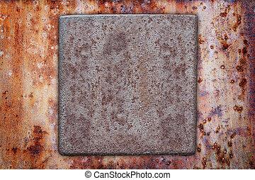metal plate border