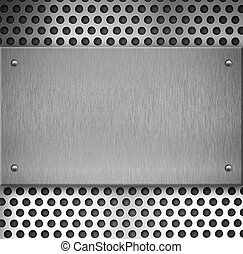 metal plate industrial background