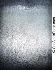 Metal plate steel background.