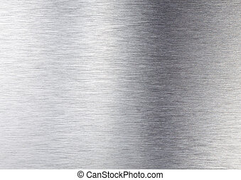 metal, prata, textura