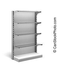 Metal Retail Store Shelves