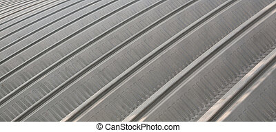 Metal roof texture for background