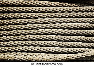 metal rope texture