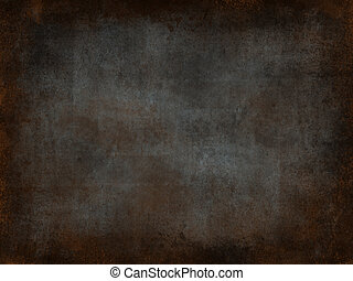 Metal rust background - metal rust grunge and ruined...
