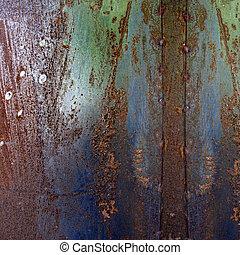 Metal Rust Textured Grunge Background
