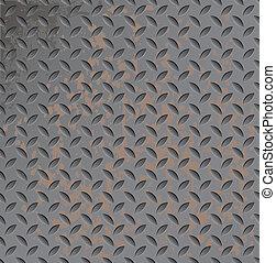 Metal rusty texture. - Abstract vector metal texture...