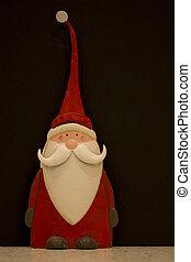 Metal Santa figure