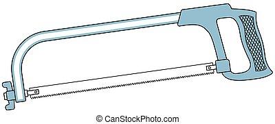 Metal saw tool