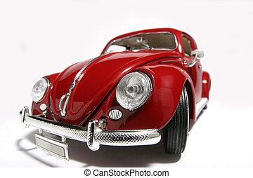 Beetle - Metal scale model of the 1,000,000 th Beetle build...
