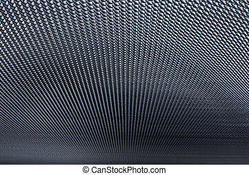 Metal screen - Large metal screen background with focus fade...