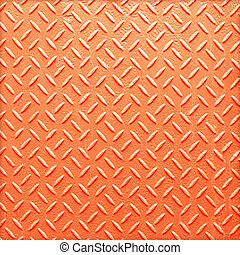 Metal seamless steel diamond plate texture pattern background