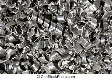 Metal shavings for background texture