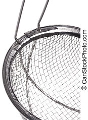 Metal Sieve Isolated