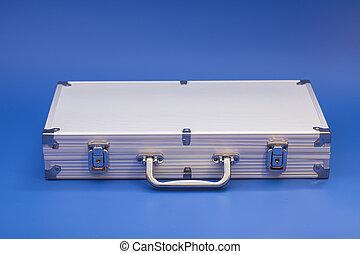Metal silver case