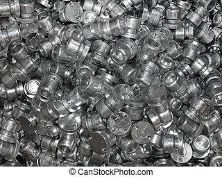 Metal spare parts