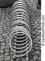 Metal Spiral - Stainless Steel bicycle racks