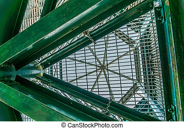 Metal Structure Abstract 2