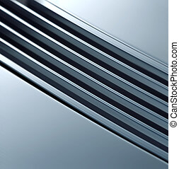 metal, struktura, lustrzany