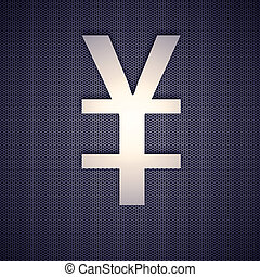 metal symbol yen